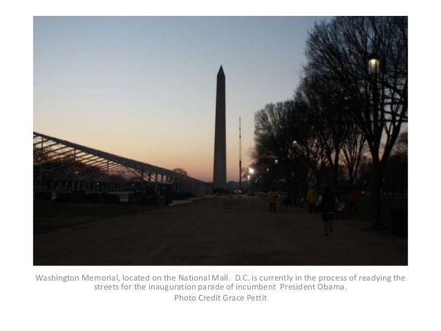 Washington Memorial, located on the National Mall. D.C. is currently in the process of readying the             streets fo...