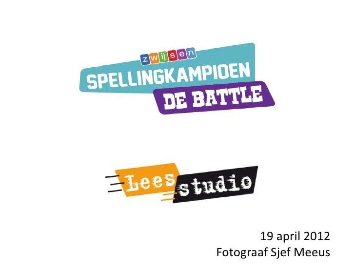 Finale Spellingkampioen de Battle