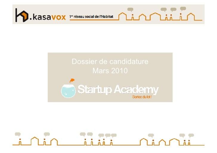 Slide Show Kasavox Start Up Academy