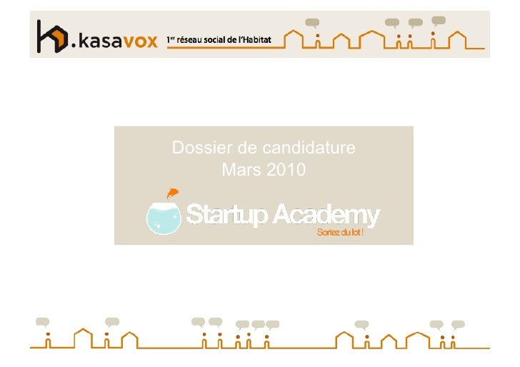 Slide Show Kasavox Start Up Academy