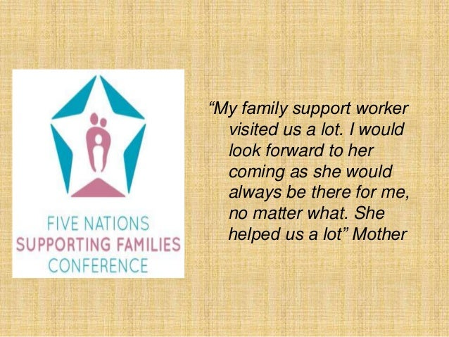 "Support Worker Quotes ""my Family Support Worker"