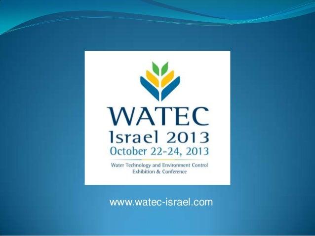 www.watec-israel.com