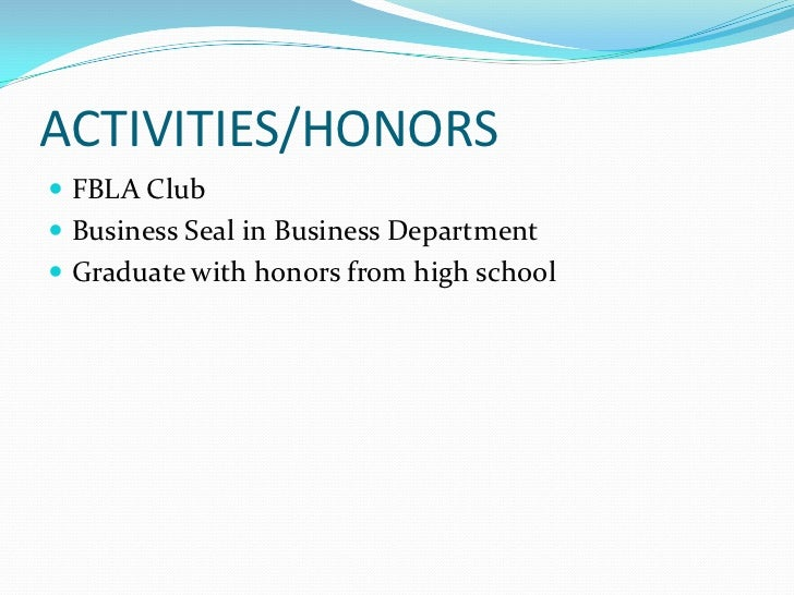 Graduation Honors on Resume />graduate With Honors