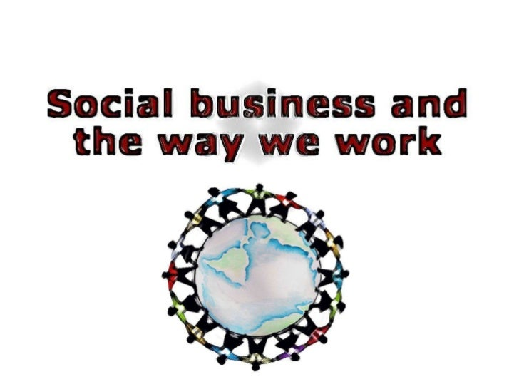 Social business and the way we work