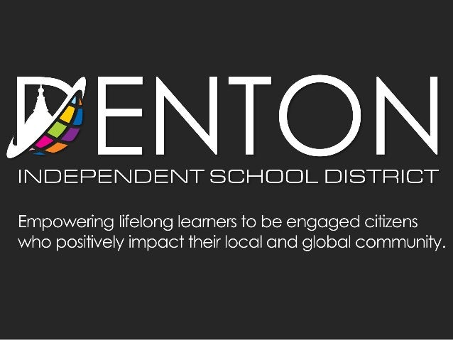 Chris Shade, Director of School Improvement and Support (and recovering principal), Denton ISD