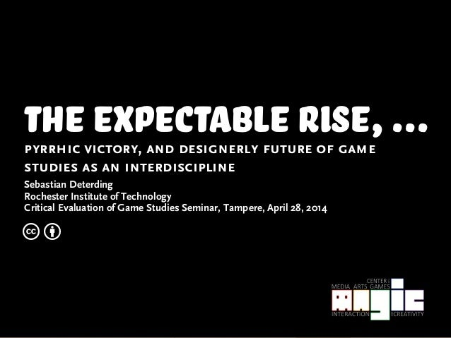 The Expectable Rise, Pyrrhic Victory, and Designerly Future of Game Studies as an Interdiscipline