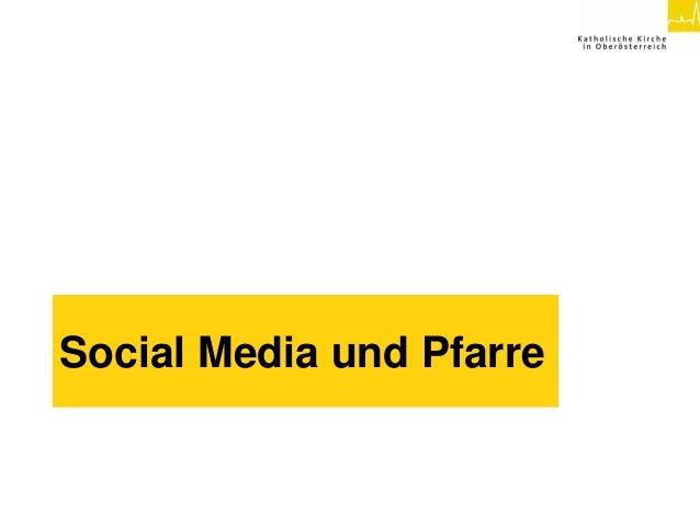 Social Media und Pfarre