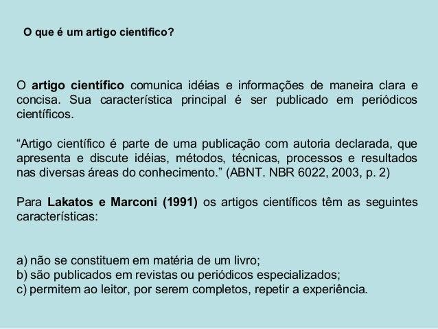 Artigos cientifico sobre educacao
