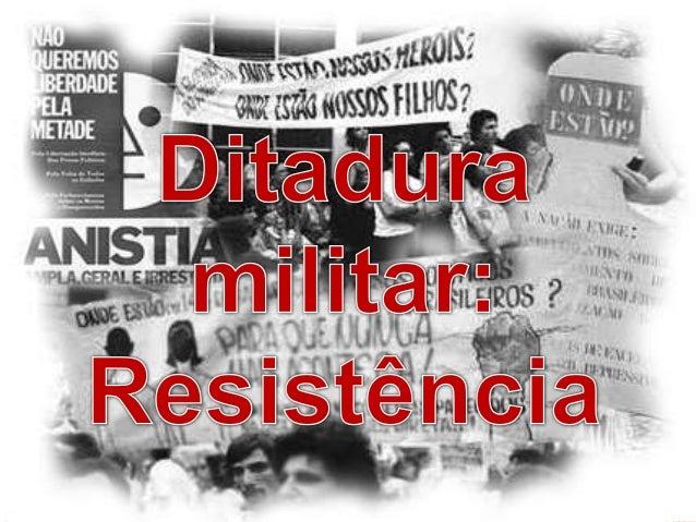 Os Estudantes, organizados pelos movimentos estudantis como a UNE e a UBE antes de abril de 64, eram um dos grupos que mai...