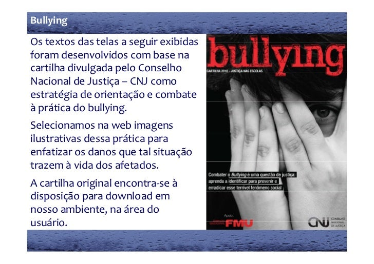 Curso online gratuito Bullying