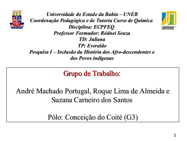 11Grupo de TrabalhoGrupo de Trabalho::André Machado Portugal, Roque Lima de Almeida eAndré Machado Portugal, Roque Lima de...