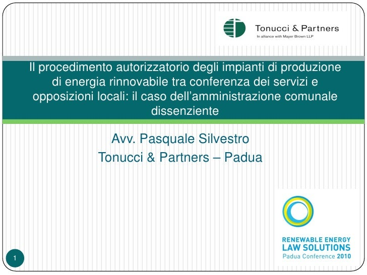 renewable energy law solutions Italy