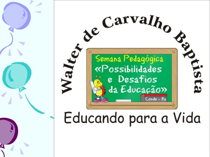 Slides  semana pedagógica