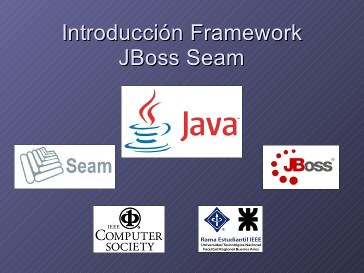 Introducción Framework JBoss Seam