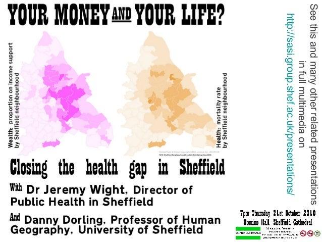 Seethisandmanyotherrelatedpresentations infullmultimediaon http://sasi.group.shef.ac.uk/presentations/