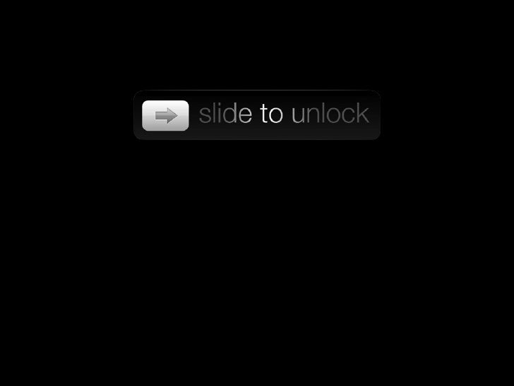 Slide to unlock - SLF11 version