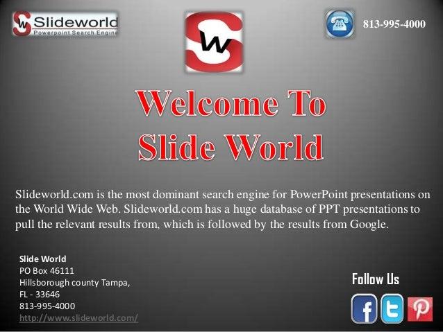 Slide World - PowerPoint Templates