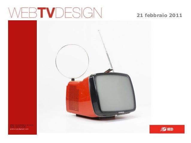 WEB TV DESIGN 2011