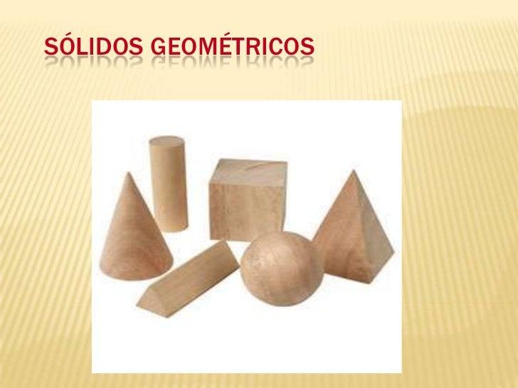 Sólidos Geométricos<br />