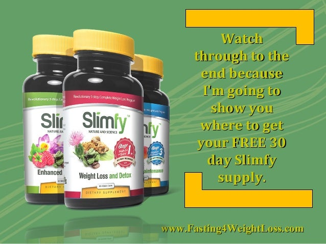 Slimfy Review - Slim down and become a success story