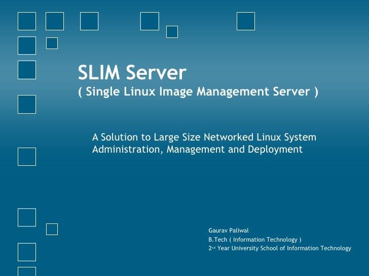 Slim Server Theory