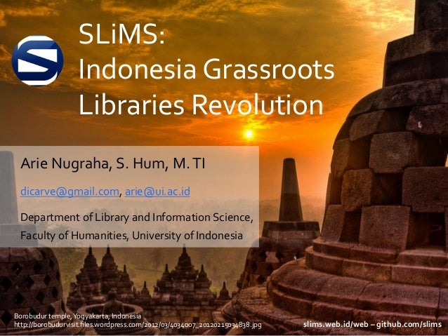 SLiMS Grassroot Library Automation System