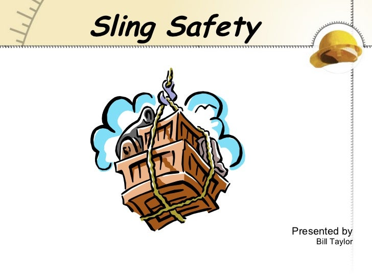 Overhead Crane Safety Points : Lifting sling safety
