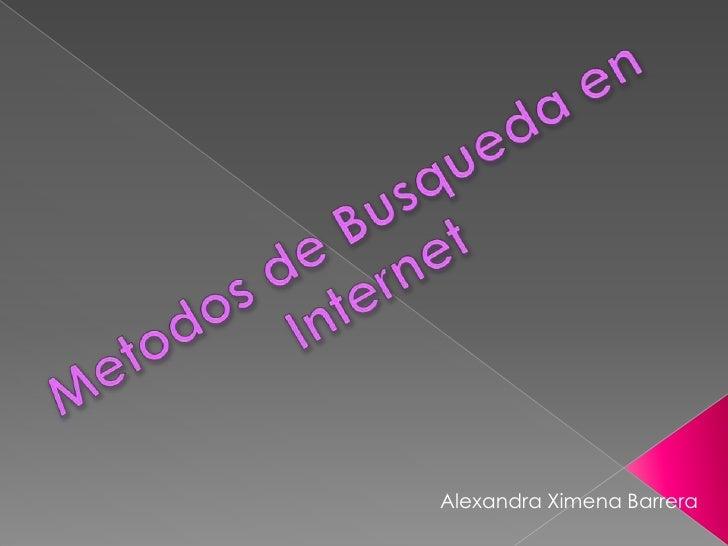 Alexandra Ximena Barrera