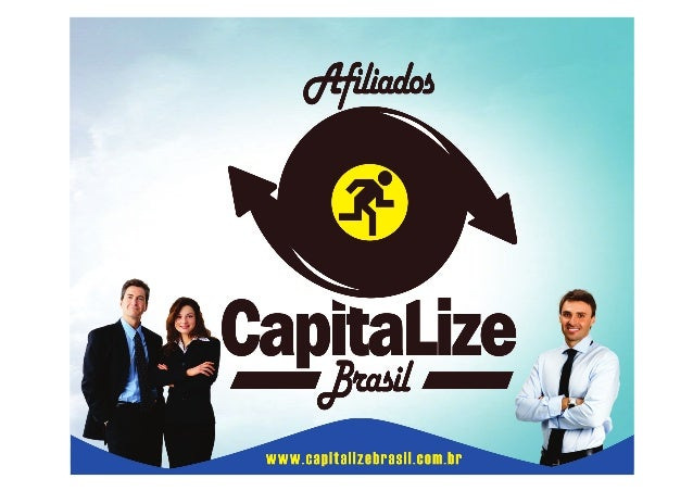 Slide de Apresentação Capitalize Brasil