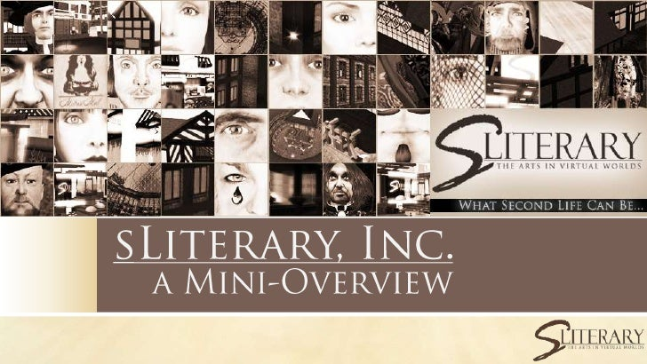 sLiterary, Inc. MiniOverview