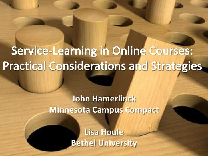 Sl online practical considerations