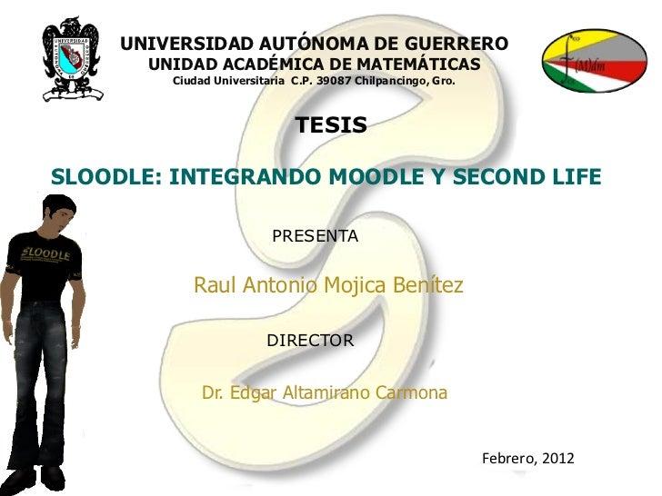 Sloodle: Integrando Moodle y Second Life