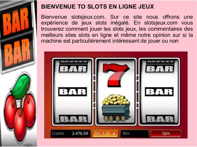 Bienvenue slotsjeux.com. Sur ce site nous offrons uneexpérience de jeux slots inégalé. En slotsjeux.com voustrouverez comm...