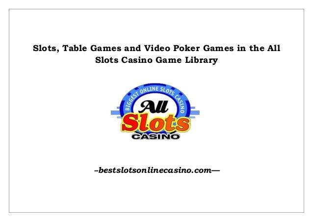 online casino table games slots n games