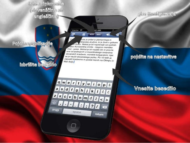 Slovenian Keyboard  for iphone and ipad