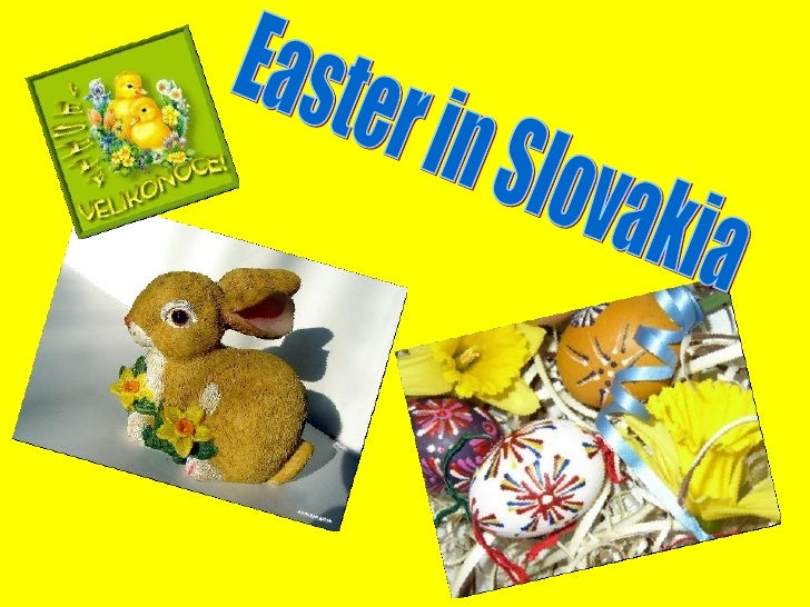 Easter in Slovakia