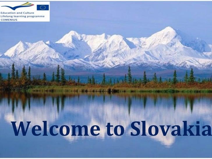 Welcome to Slovakia