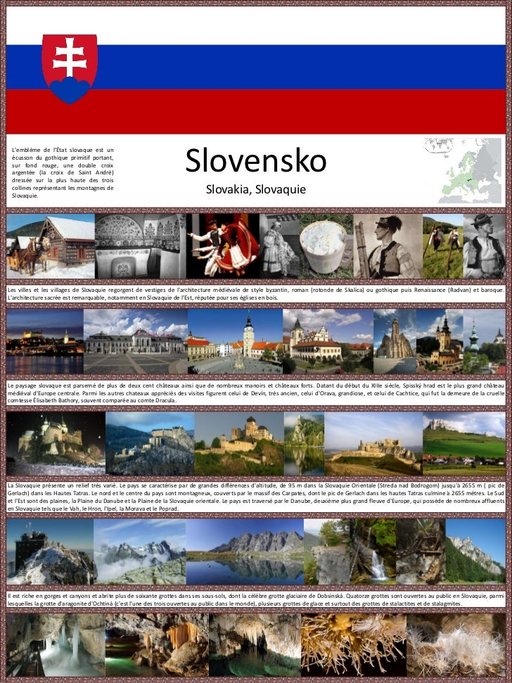 Slovakia Presentation at Day of Cultures
