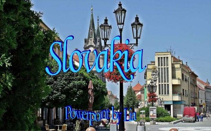 Slovakia Powerpoint by Lia