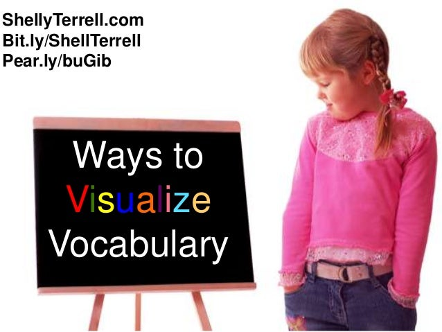 ShellyTerrell.comBit.ly/ShellTerrellPear.ly/buGib       Ways to       Visualize      Vocabulary
