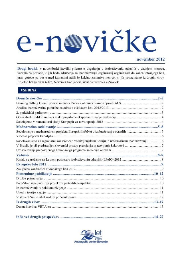 Slovenian institute for adult education e news p22
