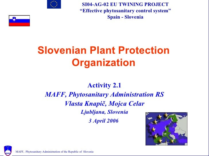 Slovenian NPPO by convention IPPC