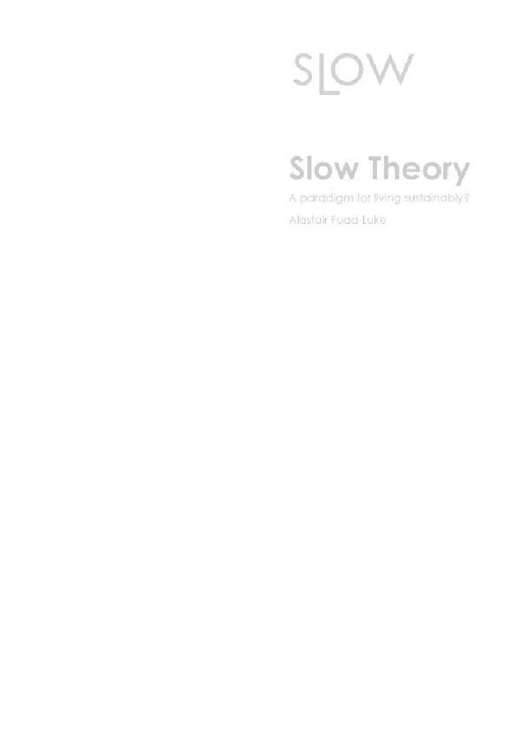 Slow design
