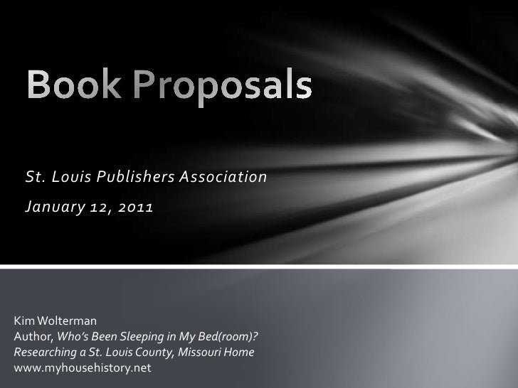 Why You Should Write a Book Proposal