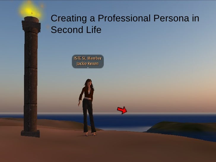 Creating a Professional Persona in Second Life