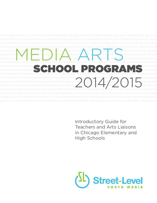 Media Arts School Programs