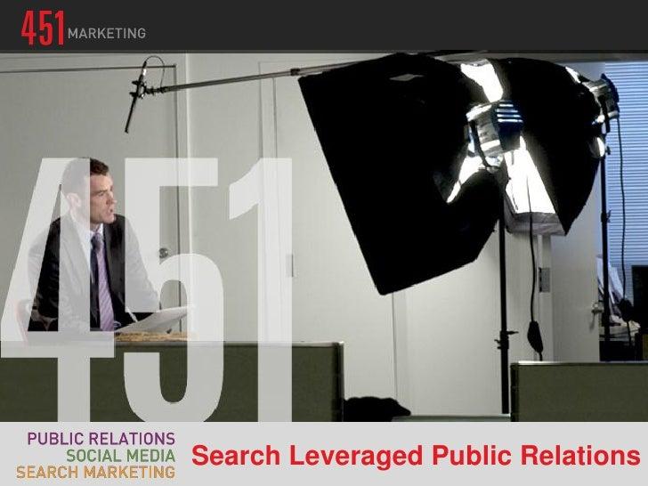 Search Leveraged PR Workshop 6.5.12