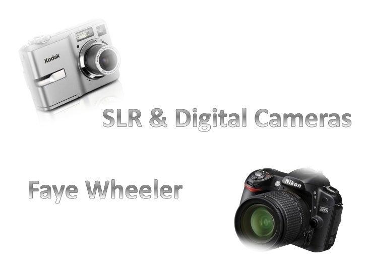 Slr & digital cameras