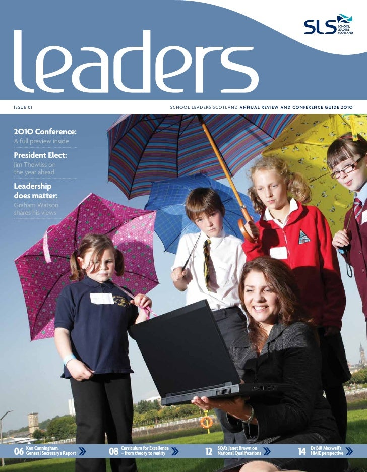 Positive Leadership Article in School Leaders Scotland Annual Review