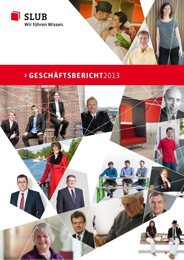 > Geschäftsbericht2013